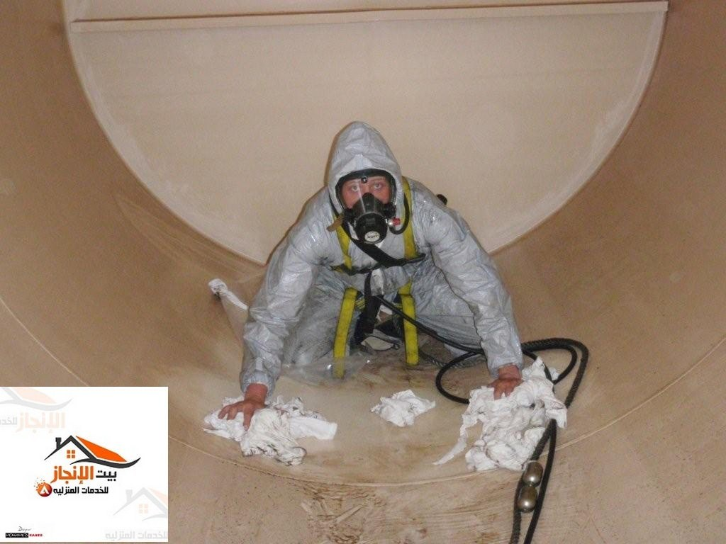 تنظيف خزانات المياه مع التعقيم 0533642545 خصم 25%